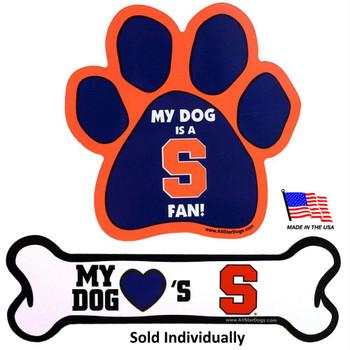 Syracuse Orange Car Magnets