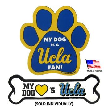 UCLA Bruins Car Magnets