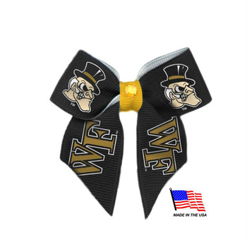 Wake Forest Demon Deacons Pet Hair Bow