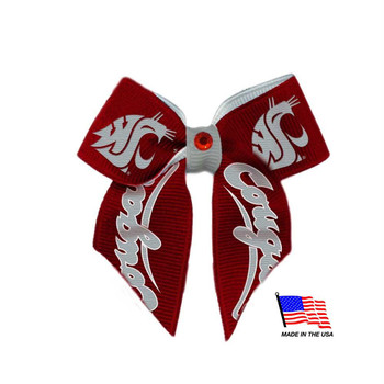 Washington State Pet Hair Bow