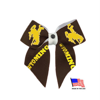 Wyoming Cowboys Pet Hair Bow