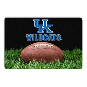 Kentucky Wildcats Classic Football Pet Bowl Mat