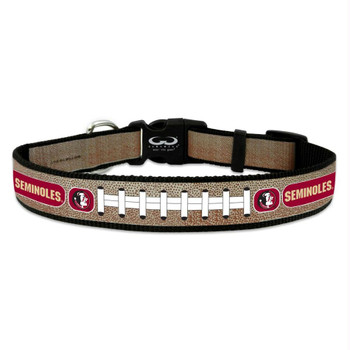 Florida State Seminoles Reflective Football Pet Collar