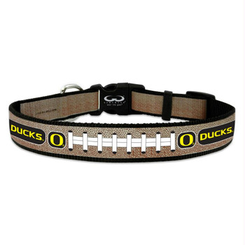 Oregon Ducks Reflective Football Pet Collar