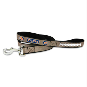 Auburn Tigers Reflective Football Pet Leash