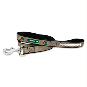 Miami Hurricanes Reflective Football Pet Leash