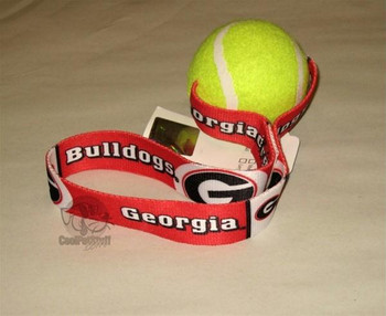 Georgia Bulldogs Tennis Ball Toss Toy