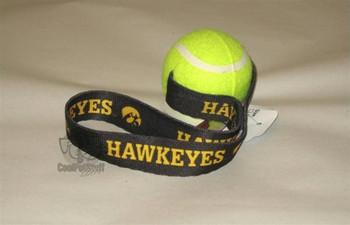 Iowa Hawkeyes Tennis Ball Toss Toy