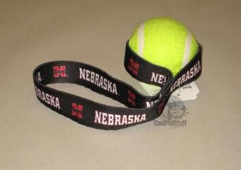 Nebraska Huskers Tennis Ball Toss Toy