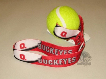 Ohio State Buckeyes Tennis Ball Toss Toy