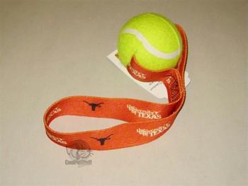 Texas Longhorns Tennis Ball Toss Toy