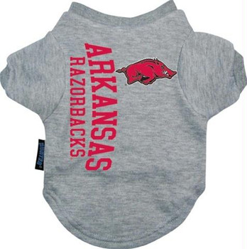 Arkansas Razorbacks Dog Tee Shirt