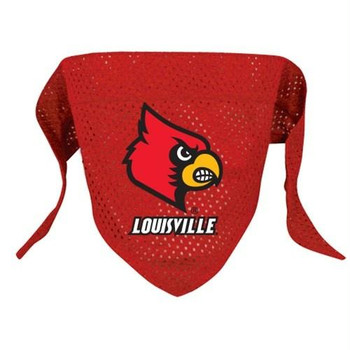 Louisville Cardinals Mesh Dog Bandana