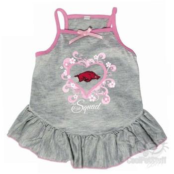 "Arkansas Razorbacks ""Too Cute Squad"" Pet Dress"