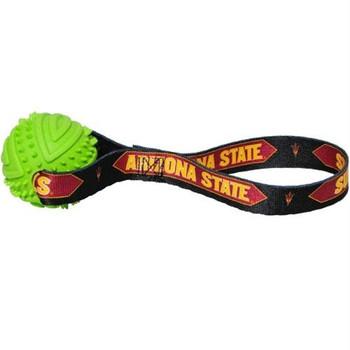 Arizona State Rubber Ball Toss Toy