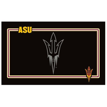 Arizona State Sun Devils Black Pet Bowl Mat