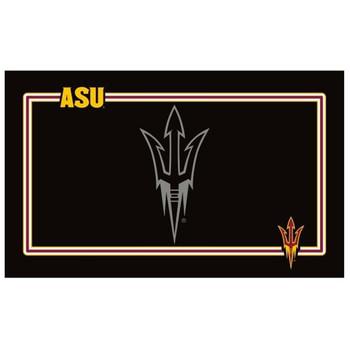 Arizona State Sun Devils Black Pet Bowl Mat