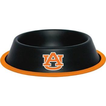 Auburn Tigers Gloss Black Pet Bowl