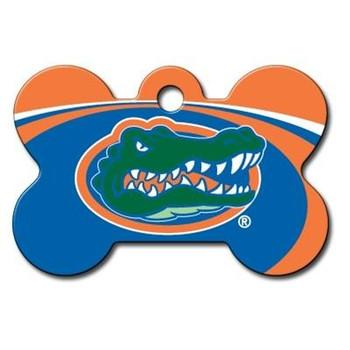 Florida Gators Bone ID Tag