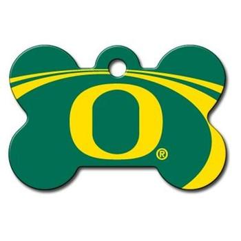 Oregon Ducks Bone ID Tag