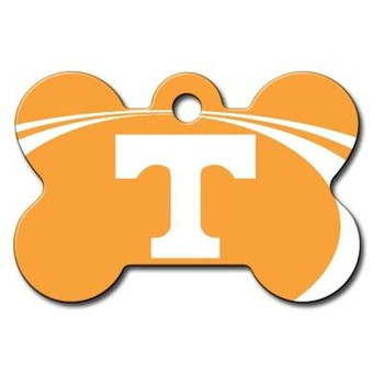 Tennessee Volunteers Bone ID Tag