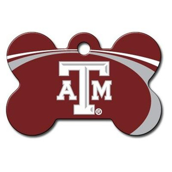 Texas A&M Aggies Bone ID Tag