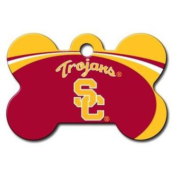 USC Trojans Bone ID Tag