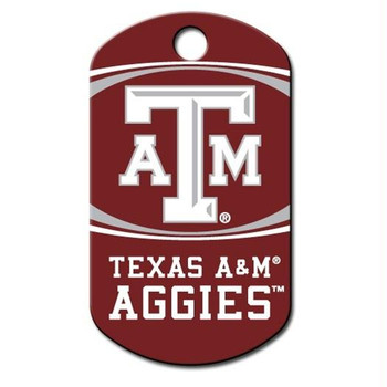Texas A&M Aggies Military ID Tag