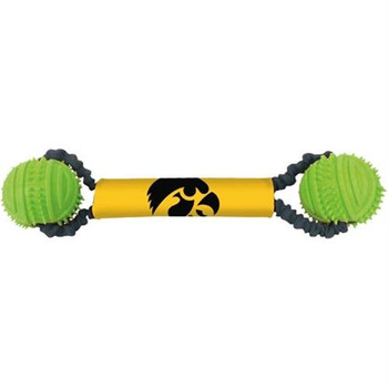 Iowa Hawkeyes Double Bungee Tug-N-Toss Toy