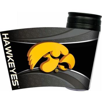 Iowa Hawkeyes Acrylic Tumbler w/ Lid
