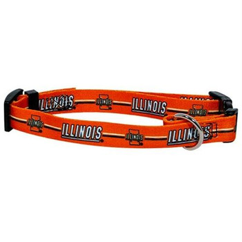 Illinois Fighting Illini Pet Collar