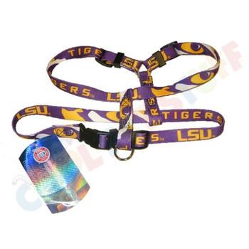 LSU Tigers Pet Harness