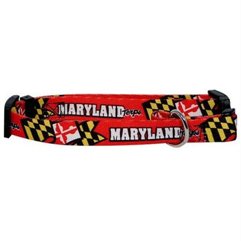Maryland Terrapins Pet Collar