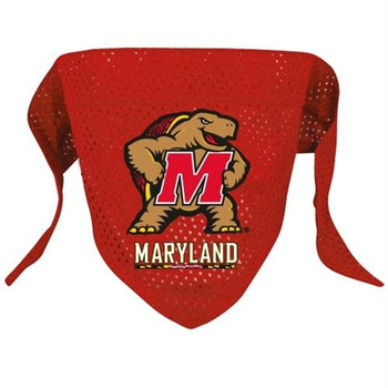 Maryland Terrapins Pet Mesh Bandana