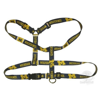 Michigan Wolverines Pet Harness