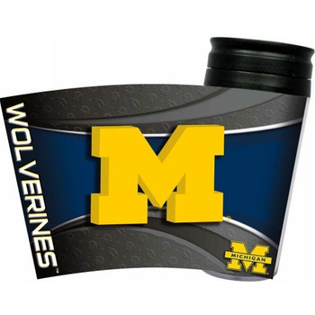 Michigan Wolverines Acrylic Tumbler w/ Lid
