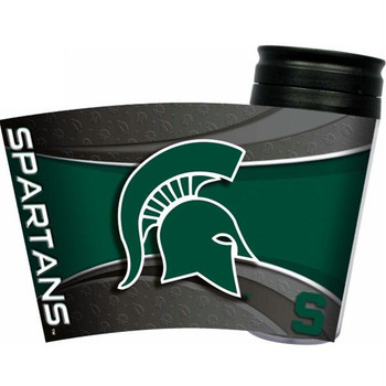 Michigan State Spartans Acrylic Tumbler w/ Lid