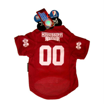 Mississippi State Bulldogs Pet Mesh Jersey - MD