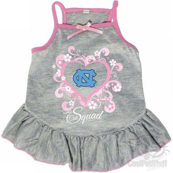 """North Carolina Tarheels """"Too Cute Squad"""" Pet Dress"""
