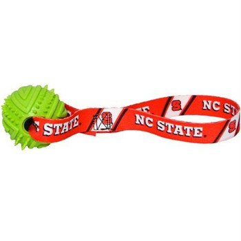NC State Wolfpack Rubber Ball Toss Toy