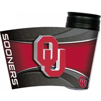 Oklahoma Sooners Acrylic Tumbler w/ Lid