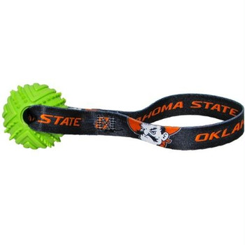 Oklahoma State Rubber Ball Toss Toy