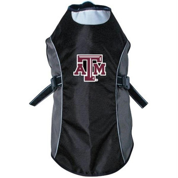Texas A&M Aggies Water Resistant Reflective Pet Jacket