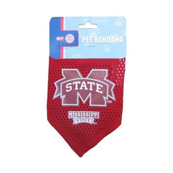 Mississippi State Bulldogs Mesh Dog Bandana