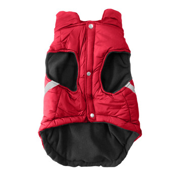 Chicago Blackhawks Pet Puffer Vest - Teacup