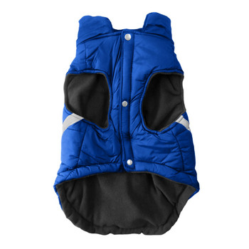 New York Rangers Pet Puffer Vest - Teacup