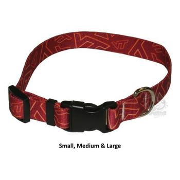 Virginia Tech Hokies Pet Nylon Collar - Medium