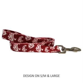 Washington State Cougars Pet Nylon Leash - Large