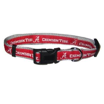 Alabama Crimson Tide Pet Collar