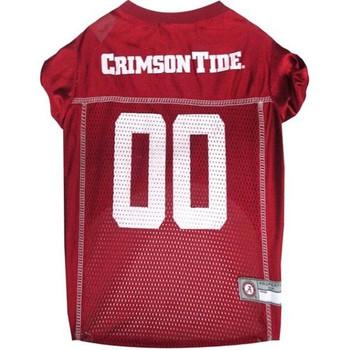 Alabama Crimson Tide Pet Jersey